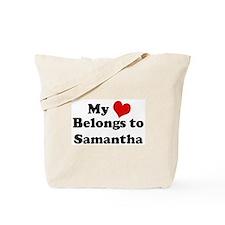 My Heart: Samantha Tote Bag