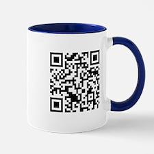Rick Roll QR Code Mug