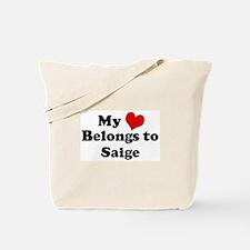 My Heart: Saige Tote Bag