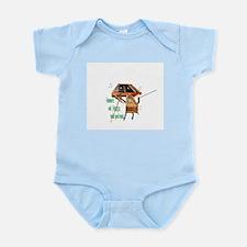 Hammer and Harps make good mu Infant Bodysuit