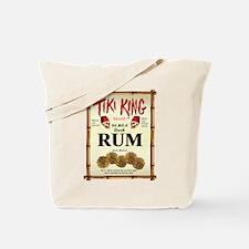 Tiki King Rum Tote Bag