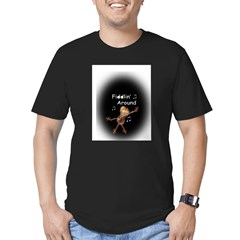 Fiddlin' Around Men's Fitted T-Shirt (dark)