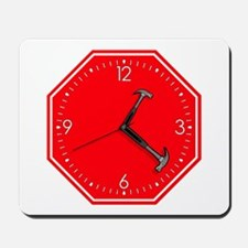 Stop Hammer Time Mousepad