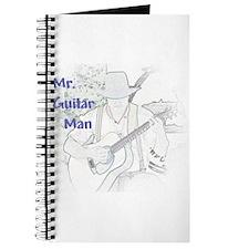 Mr. Guitar Man Journal