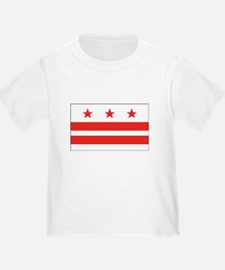 District of Columbia Flag White Inf/T