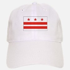 District of Columbia Flag Baseball Baseball Cap