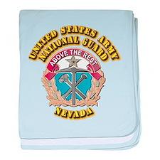Army National Guard - Nevada baby blanket