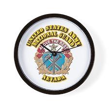 Army National Guard - Nevada Wall Clock
