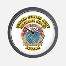 Army National Guard - Nevada Wall Clock