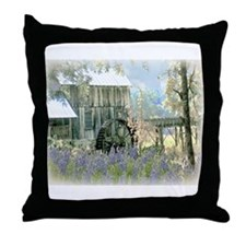 The Old Griss Mill Throw Pillow