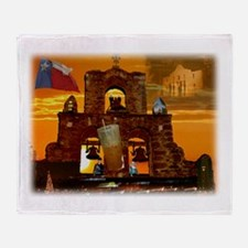San Antonio, Texas Throw Blanket
