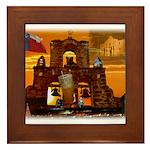 San Antonio, Texas Framed Tile