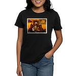 San Antonio, Texas Women's Dark T-Shirt
