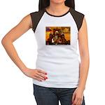 San Antonio, Texas Women's Cap Sleeve T-Shirt