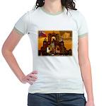 San Antonio, Texas Jr. Ringer T-Shirt