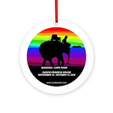 Bangkok-CapeTown Ornament (Round)