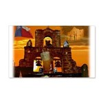 San Antonio, Texas 22x14 Wall Peel