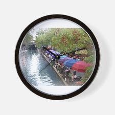 The Riverwalk in Art Wall Clock