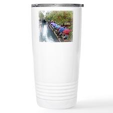 The Riverwalk in Art Travel Coffee Mug