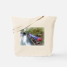 The Riverwalk in Art Tote Bag
