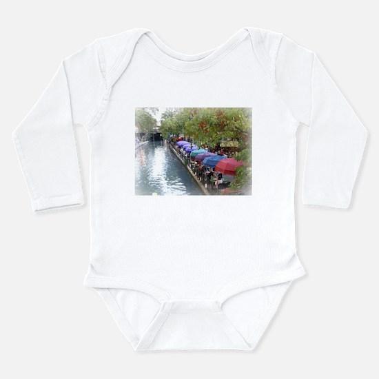 The Riverwalk in Art Long Sleeve Infant Bodysuit