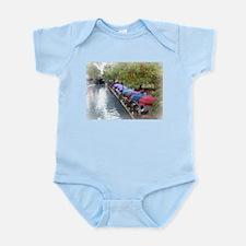 The Riverwalk in Art Infant Bodysuit