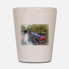 The Riverwalk in Art Shot Glass