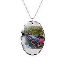 The Riverwalk in Art Necklace