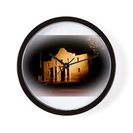 The Alamo Wall Clock