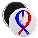 Patriotic Peace Ribbon 2.25