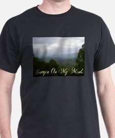 Georgia On My Mind Black T-Shirt