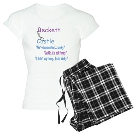 Beckett Castle Handcuffed Quote Women's Light Paja