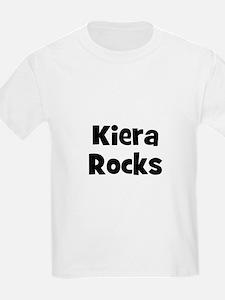 Kiera Rocks Kids T-Shirt