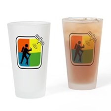 Unique Geo cache Drinking Glass