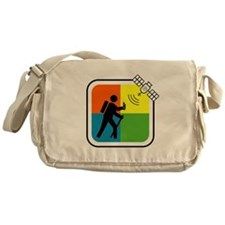 Cute Cacher Messenger Bag