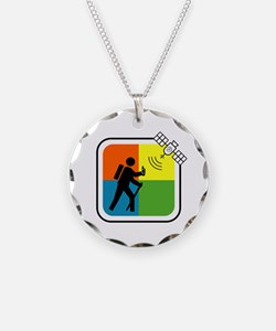 Funny Geocaching Necklace