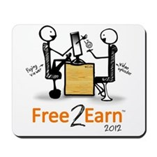 Free 2 Earn 2012 Mousepad