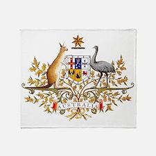 Unique Australia day Throw Blanket