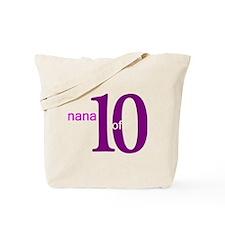 Nana Grandpop of 10 Tote Bag