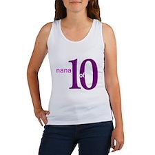 Nana Grandpop of 10 Women's Tank Top
