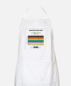 Resistor Color BBQ Apron