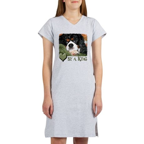 Loved by a King Women's Nightshirt