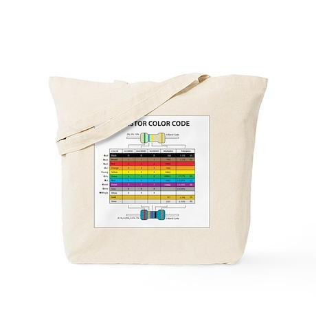 Resistor Color Tote Bag