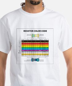 Resistor Color Shirt