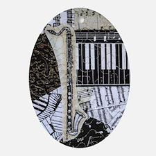 Bass Clarinet Music Ornament