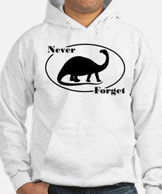 Never Forget Dinosaurs Hoodie