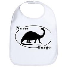 Never Forget Dinosaurs Bib