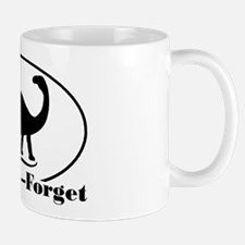 Never Forget Dinosaurs Mug