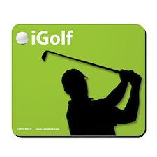 Official Green iGolf Mousepad