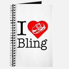 I Love Bling! I Heart Bling! Journal